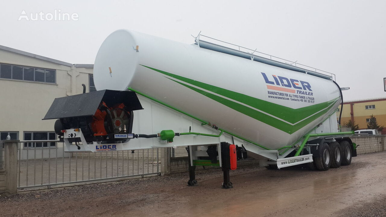 новый цементовоз LIDER 2019 NEW 80 TONS CAPACITY  FROM MANUFACTURER READY IN STOCK