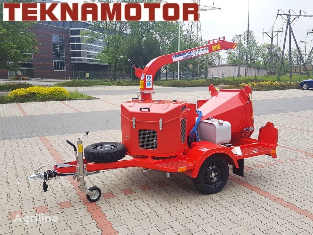 новая дробилка древесины TEKNAMOTOR Skorpion 120 SD