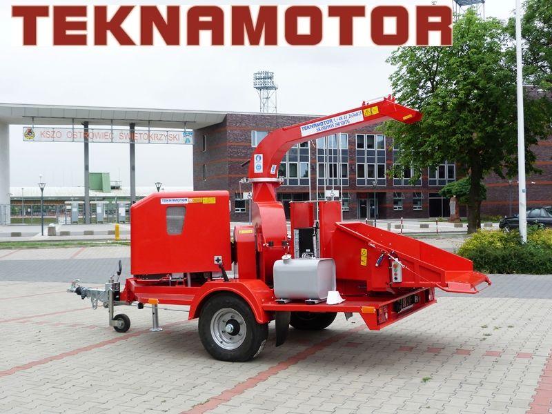 новая дробилка древесины TEKNAMOTOR Skorpion 250 SDTG