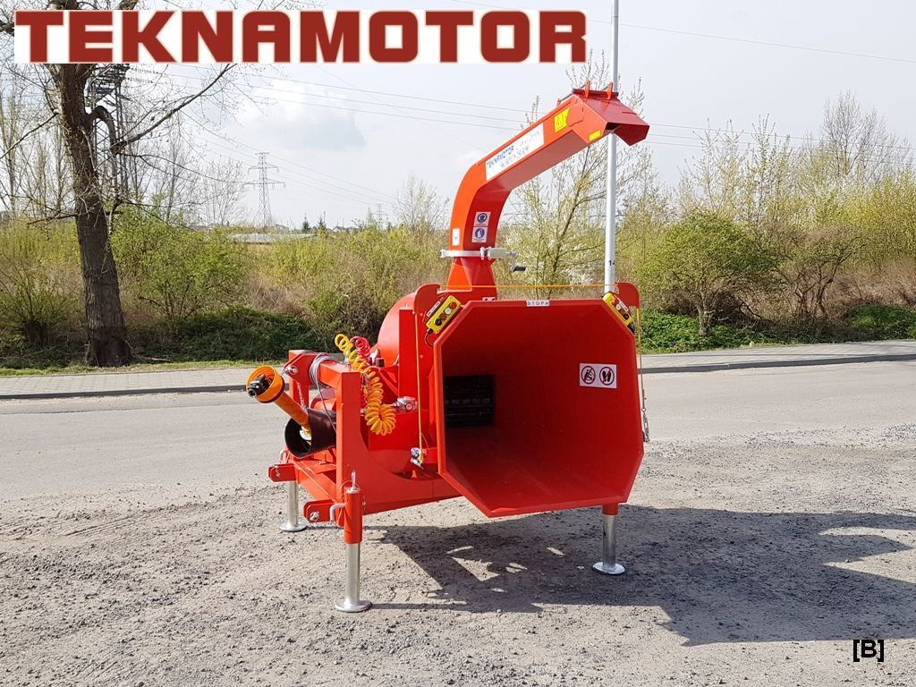 новая дробилка древесины TEKNAMOTOR Skorpion 250R/90