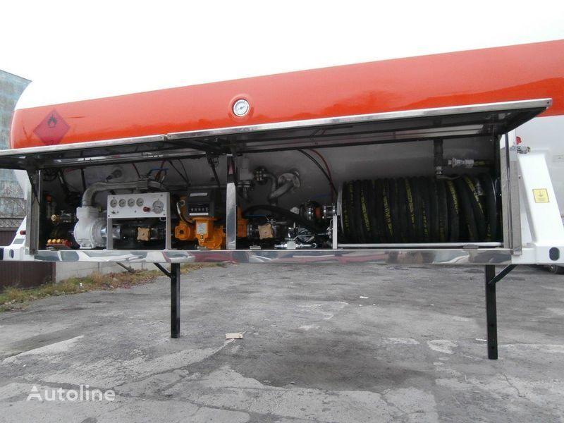 газовая цистерна LDS сменное шасси