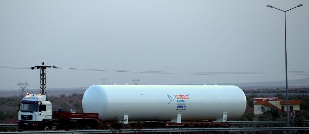 новая газовая цистерна YILTEKS Lpg Storage Tank 180m3