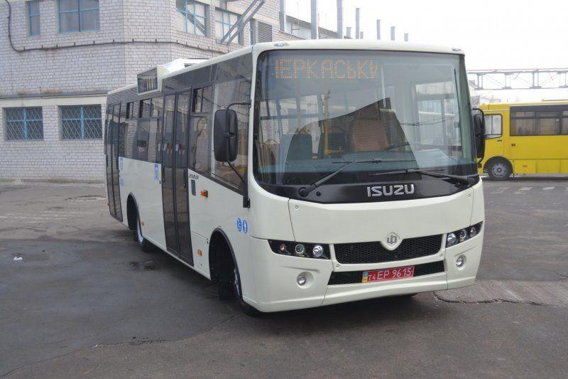 новый городской автобус АТАМАН А-092 Н6