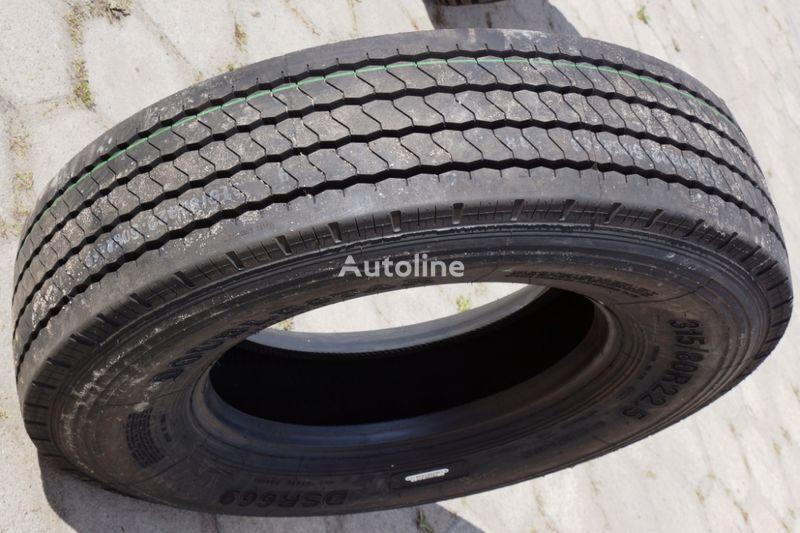 новая грузовая шина Doublestar FRONT STZ / EU CERTIFY / EXPORT / 0,00 VAT 315/80 R 22.50