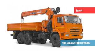 новый бортовой грузовик КАМАЗ 65861-1503-06 С КМУ XCMG SQS157B НА ШАССИ