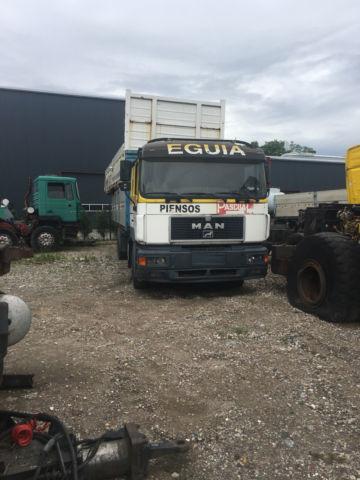 бортовой грузовик MAN 25 403
