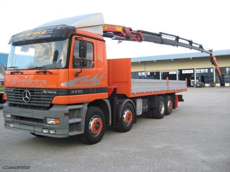 бортовой грузовик MERCEDES-BENZ 3335 L ACTROS 8X2-2540-2535 '97