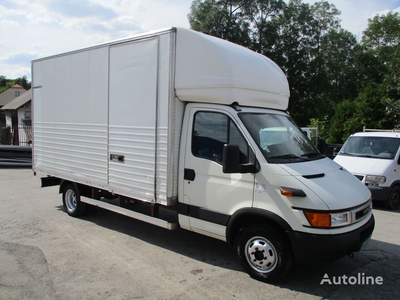 грузовик фургон IVECO Daily 50c13