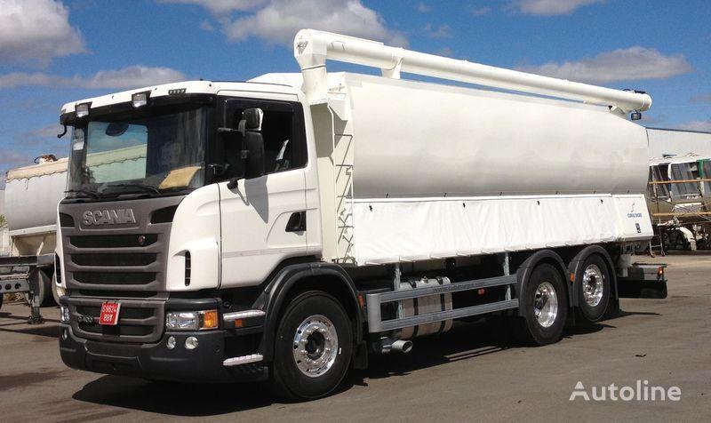 новый грузовик кормовоз SCANIA 360 по запчастям
