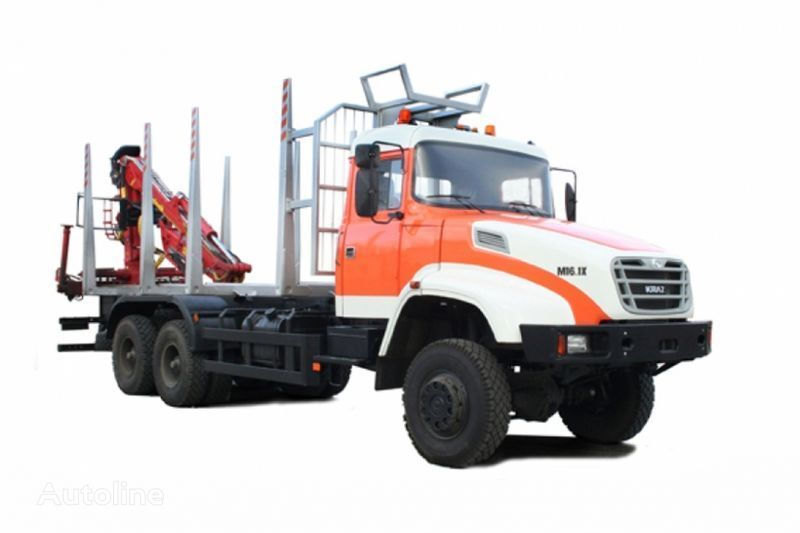 грузовик лесовоз КРАЗ М16.1Х