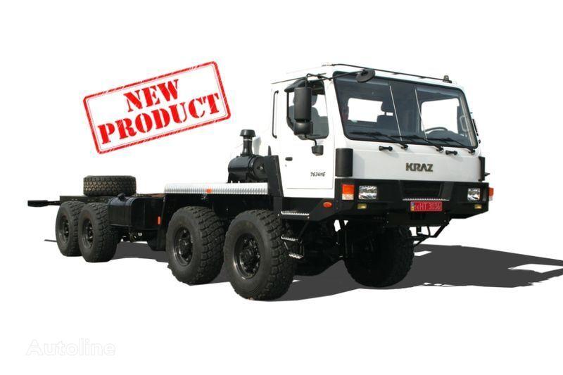 грузовик шасси КРАЗ 7634НЕ (Н27.3ЕХ)