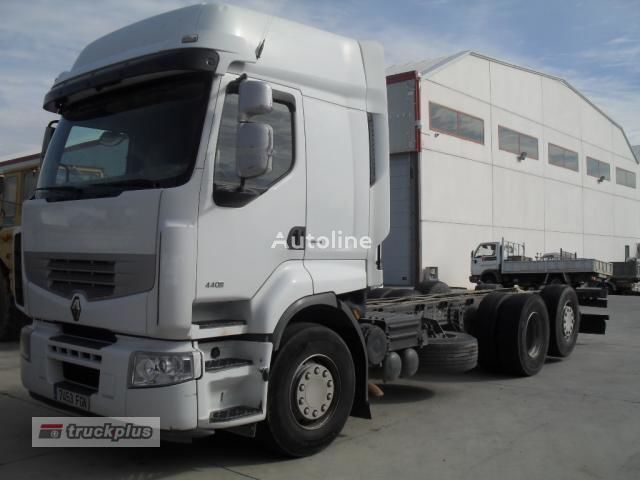 грузовик шасси RENAULT PREMIUM 440