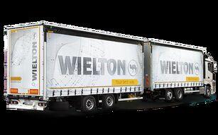 новый грузовик штора Автопоезда увеличенной кубатуры - Шторная надстройка + прицеп штора