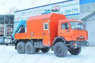 новый кунг КАМАЗ 43118-3027-50 Агрегат ремонта и обслуживания качалок АРОК
