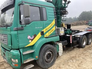 лесовоз MAN Tga 26.480  6x4 Loglift 215Z