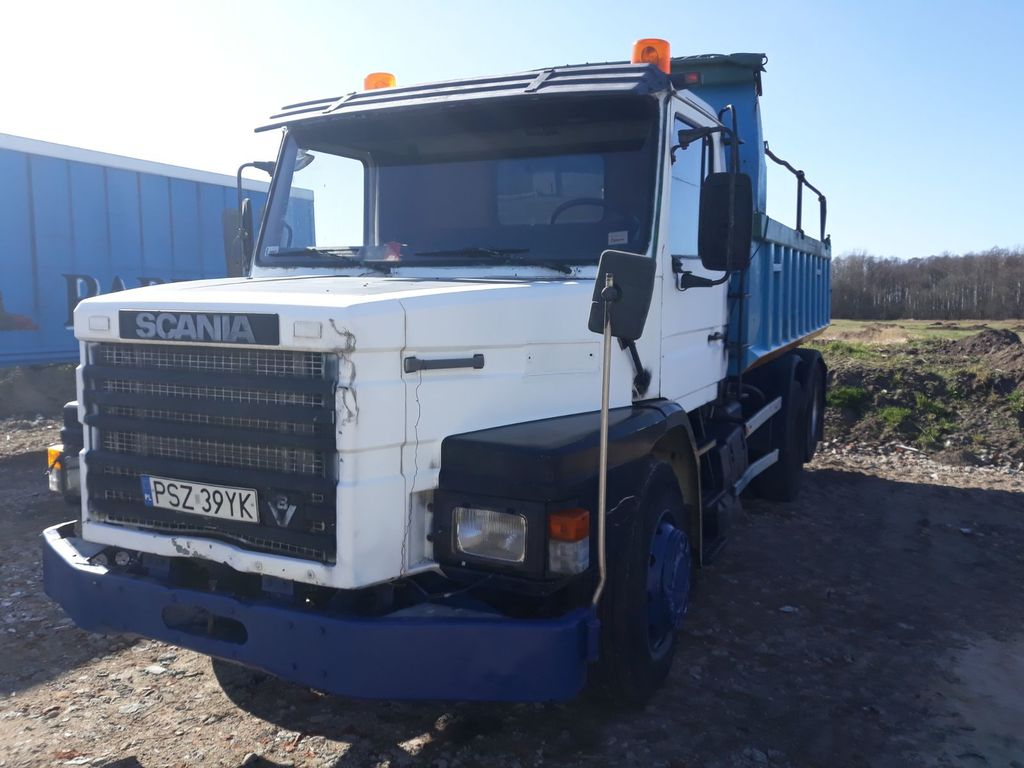 самосвал SCANIA 142.420 V8 Motor  Full Steel