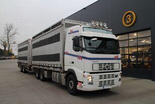 скотовоз VOLVO FH12.480 CHICKEN TRANSPORTER + прицеп скотовоз