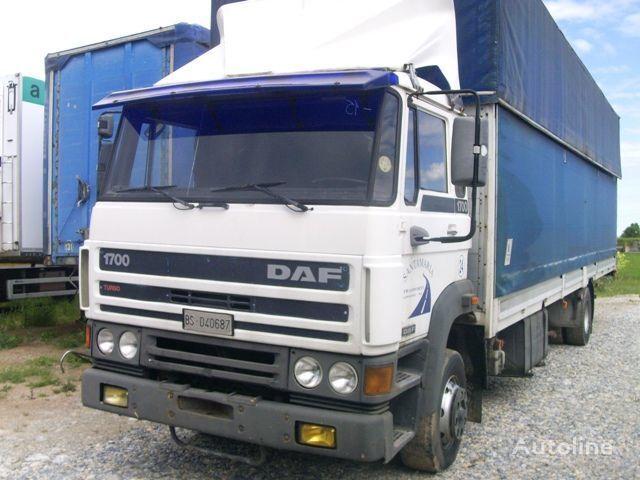 тентованный грузовик DAF 1700