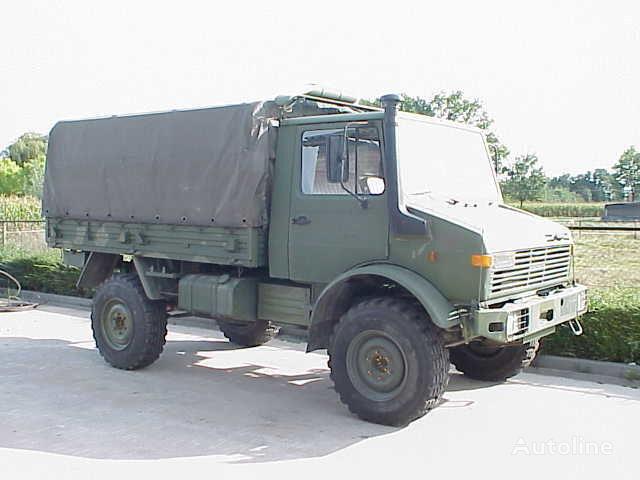 тентованный грузовик MERCEDES-BENZ UNIMOG 435/1300L