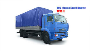 новый тентованный грузовик КАМАЗ 65117-029