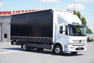 грузовик штора < 3.5т MERCEDES-BENZ Atego 1524 , E6 , 90 TYS KM , DMC 15T , firanka 7,2m , winda 1.5