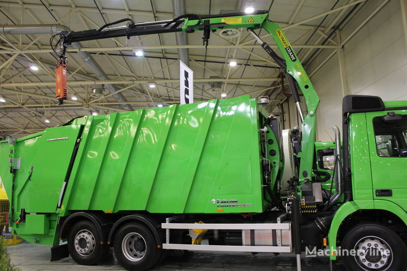 новый мусоровоз FAUN POWERPRESS 520