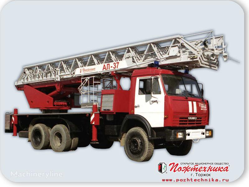 пожарная автолестница КАМАЗ АЛ-37