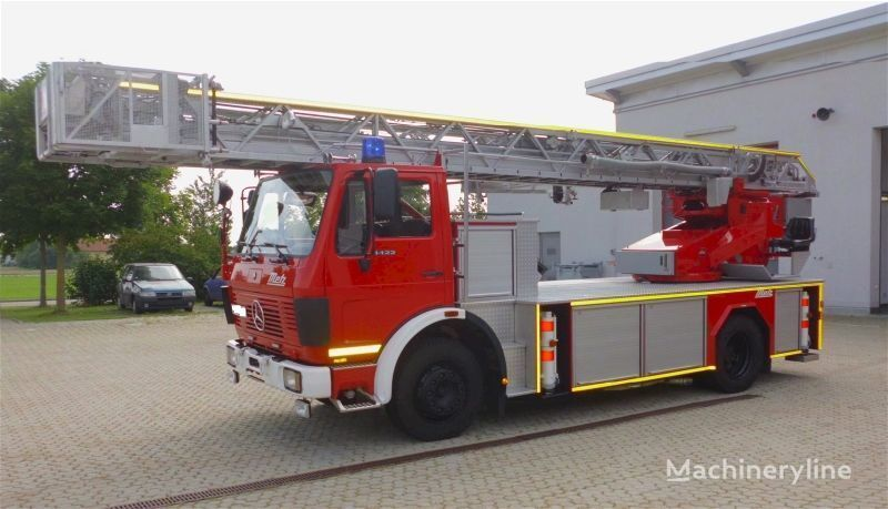 пожарная автолестница MERCEDES-BENZ F20126-Metz DLK 23-12 - Fire truck - Turntable ladder