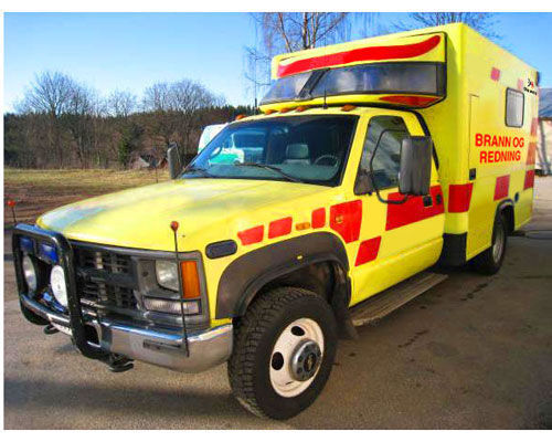 пожарная машина CHEVROLET WD