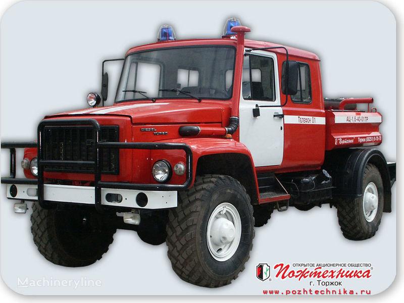 пожарная машина ГАЗ  АЦ 1,6-40