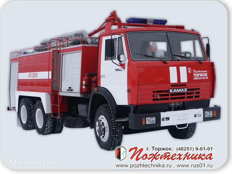 пожарная машина КАМАЗ АП-5000 Автомобиль порошкового тушения