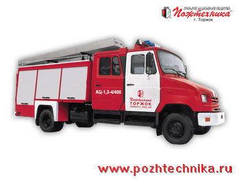 пожарная машина ЗИЛ  АЦ-1,3-4/400