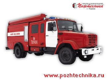 пожарная машина ЗИЛ АНР-60-800 Автомобиль насосно-рукавный