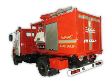 пожарная машина ЗИЛ ПСК Пожарно-спасательный комплекс с контейнерами тяжелого типа