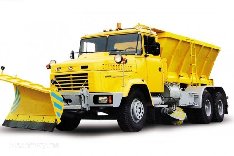 снегоуборочная машина КРАЗ 65053 КДМ-1522/1521