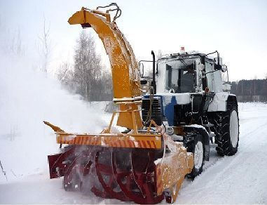 новая снегоуборочная машина МТЗ ОФР- 200