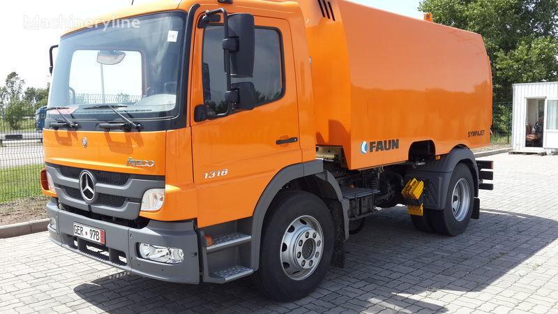 новая уборочная машина FAUN ВАРЗ-МВ-1318-06