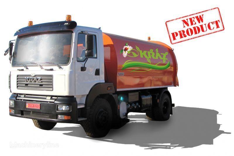 уборочная машина КРАЗ 5401К2-020 Вакуумный подметально-уборочный автомобиль