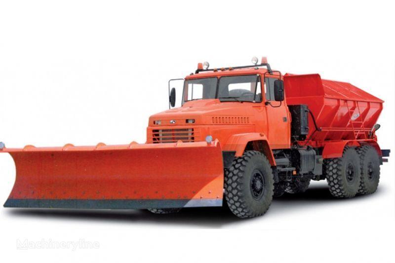 уборочная машина КРАЗ 6322 МДКЗ-30 Комбинированная дорожная машина