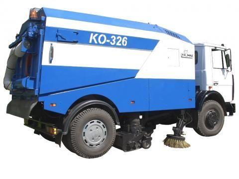 уборочная машина МАЗ КО-326