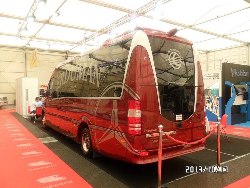 новый пассажирский микроавтобус MERCEDES-BENZ SPRINTER LUXUS - ERDUMAN