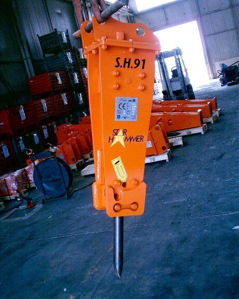 новый гидромолот STAR Hammer SH 91