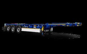 новый полуприцеп контейнеровоз WIELTON NS 3 P45 R2