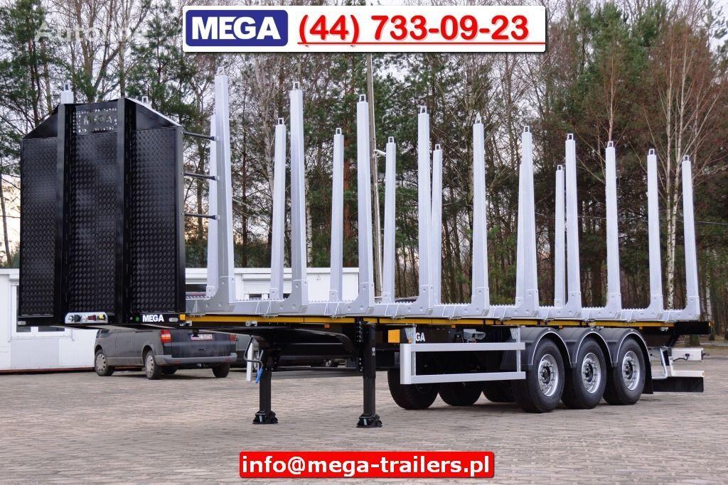 новый полуприцеп лесовоз MEGA 3 AXEL WOOD CARIER NEW