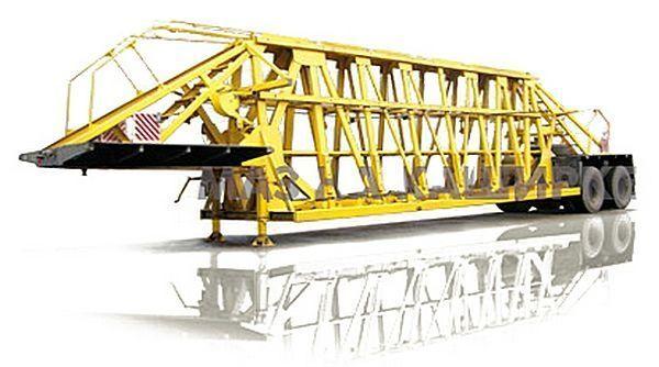 новый полуприцеп низкорамная платформа МАЗ 998500