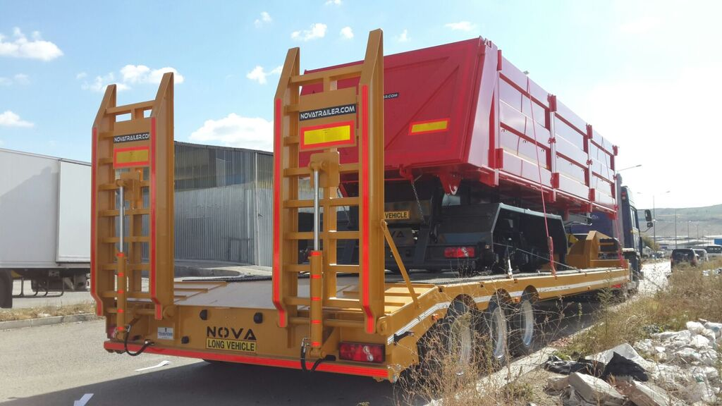 новый полуприцеп низкорамная платформа NOVA 2 to 4 axle Lowbed Trailers