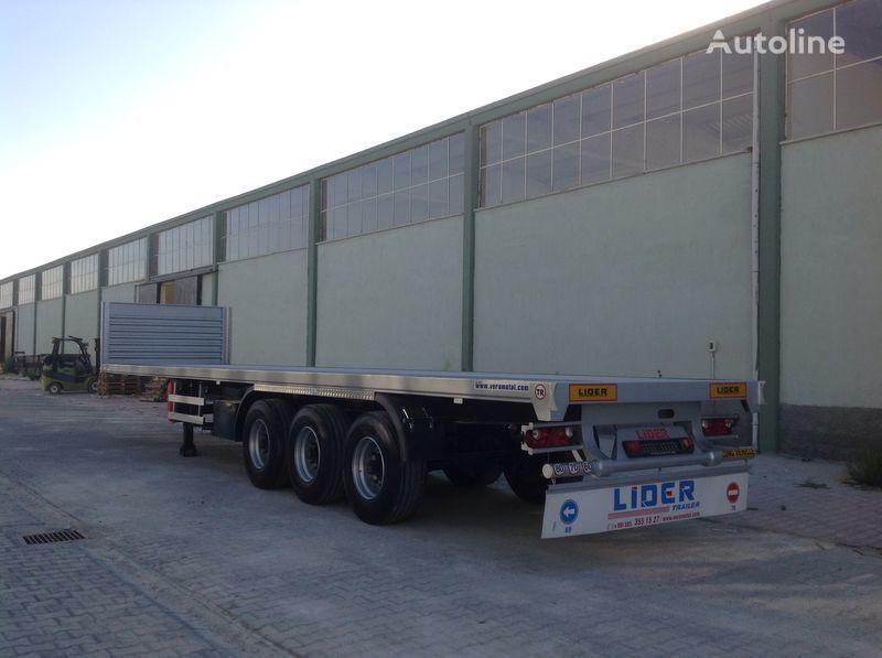 новый полуприцеп платформа LIDER 2018 YEAR NEW MODELS containeer flatbes semi TRAILER FOR SALE (M