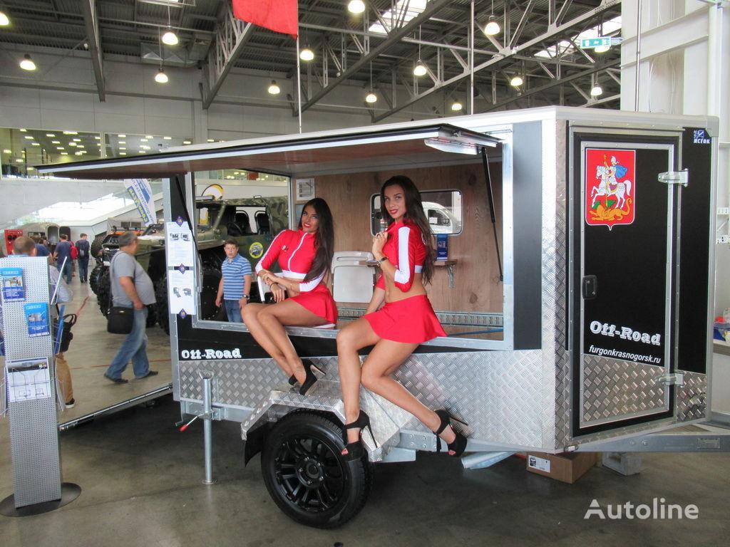 новый прицеп фургон ИСТОК 3791М3