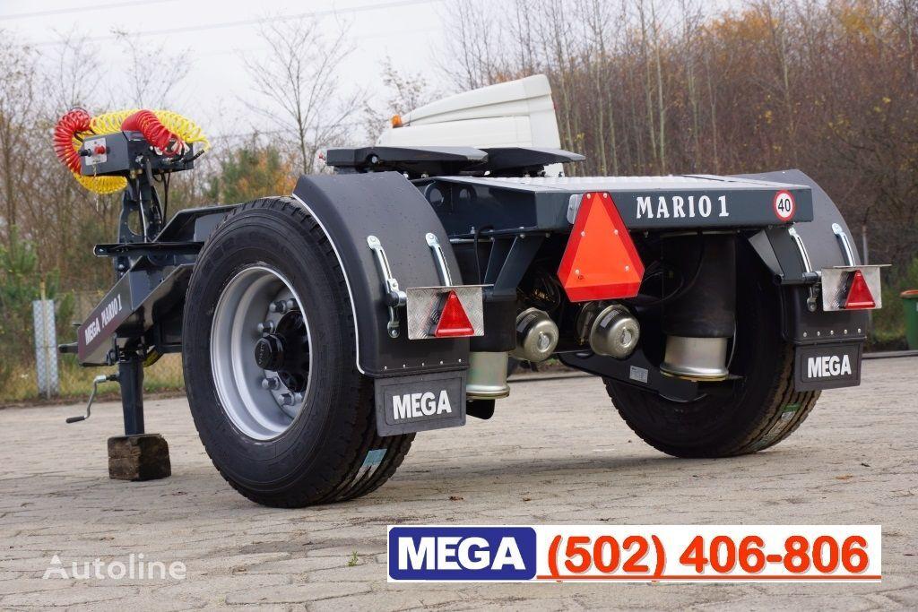 новая прицеп подкатная тележка MEGA 1 Achse Dolly fur Kipper / Hydraulik Pumpe / FERTIG