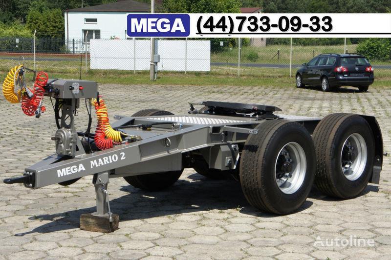 новая прицеп подкатная тележка MEGA 2015 SALE !!! 2 Achsen Dolly fur Kipper mit Hydraulik - BEREIT !